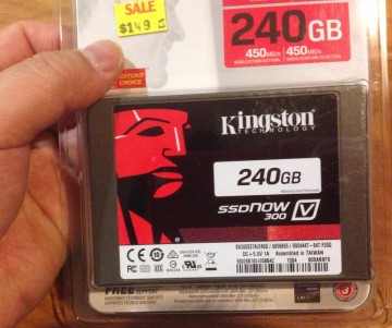 Kingston240GBSSD