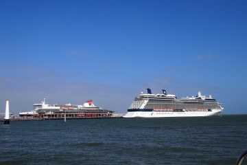 Spirit of Tasmania and Celebrity Solstice